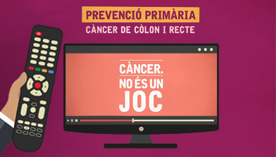 The Best Without Cancer platform of the ICO disseminates a series of informative videos on prevention of colon and rectal cancer, aimed at patients