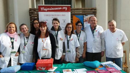 Jornada de sensibilització amb motiu del Dia Mundial Contra el Càncer de Mama