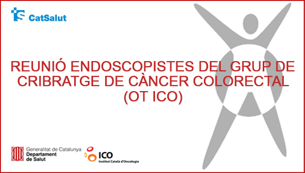 The creation of an advisory group of the Endoscopic Units of Colorectal Screening is proposed