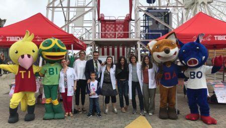 L'ICO participa a la Festa Sense Fum del Parc d'Atraccions del Tibidabo