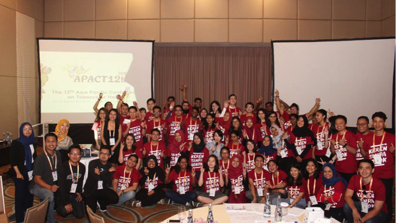 The 12th Asia Pacific Conference on Tobacco or Health (APACT12th): the region's pledge in making tobacco control as a key role in achieving sustainable development goals.