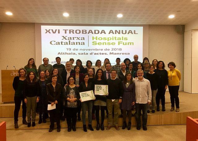 XVI Trobada anual de la Xarxa Catalana d'Hospitals sense Fum