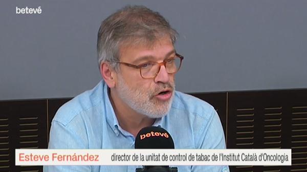 """""""El matí de Barcelona"""" de Betevé obre el debat sobre una nova llei de control del tabac"""