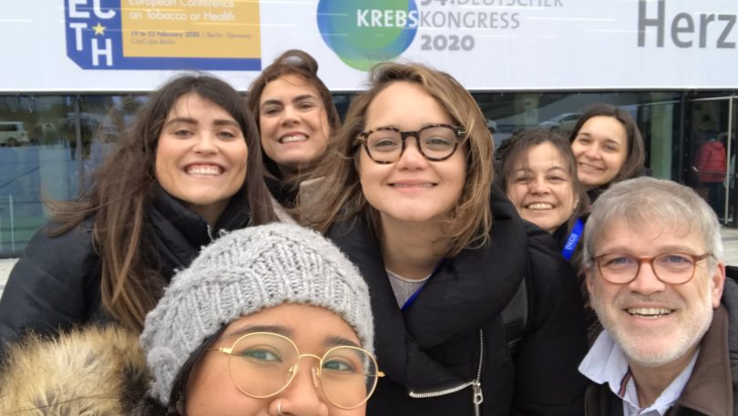 TCU Team participated in the 8th European Conference on Tobacco or Health (ECToH)