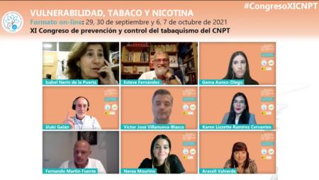 Activa participació de la Unitat de Control del Tabac de l'ICO en el XI Congrés del Comitè Nacional per a la Prevenció del Tabaquisme