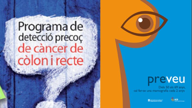 Cancel·lació de l'activitat dels Programes Poblacional de Cribratge de Càncer de l'ICO